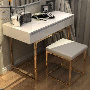 میز و صندلی کنسول استیل ایمیلی Emely