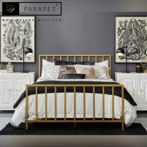 تخت خواب استیل مدل مرسی Mercy