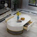 میز جلومبلی استیل مدل کالانی Kalani