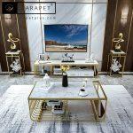 خرید میز تیوی tv استیل مدل الیسه Elyse با قیمت ارزان در تهران و کشور