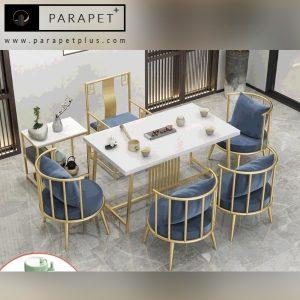صندلی و میز ناهارخوری استیل طرح میانی Miani