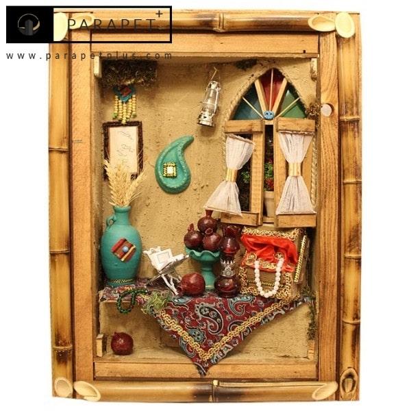 دکوراسیون سنتی ایرانی با تابلو های زیبا
