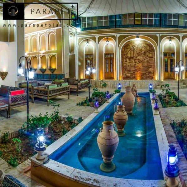 نقش حوض در دکوراسیون سنتی ایرانی