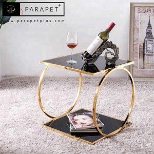 میز عسلی جنس استیل طرح فلورانس Florence